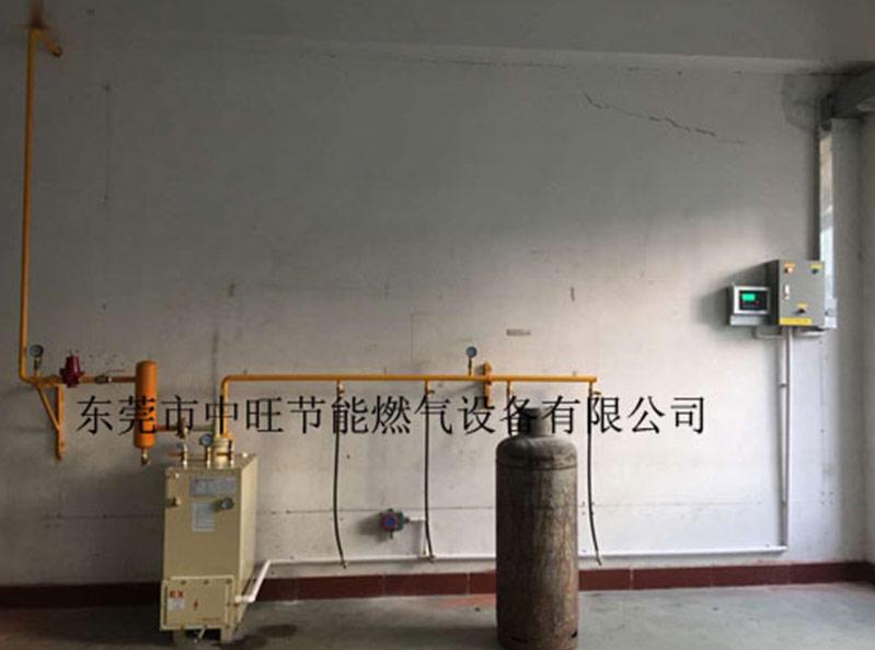 汽化器用于种植大棚保温行业